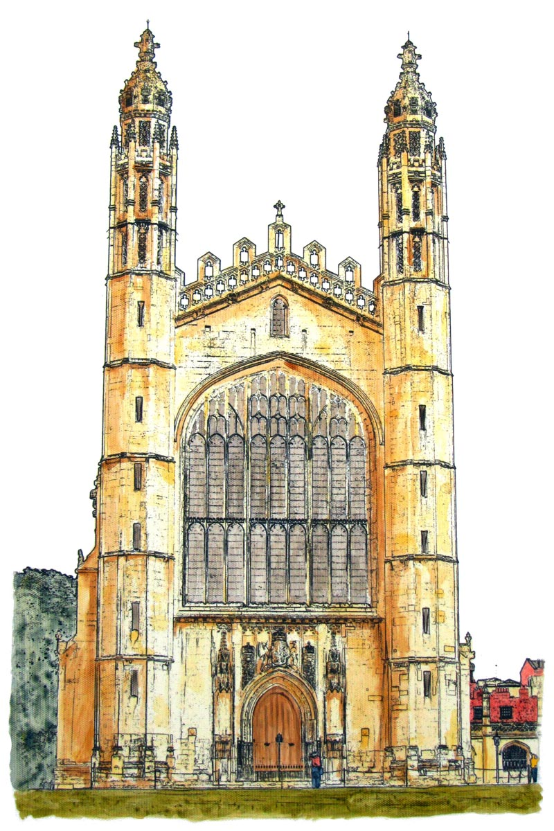 Kings' College Chapel Completed