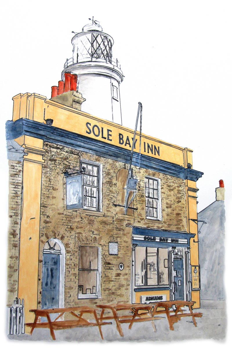 The Sole Bat Inn, Southwold Completed