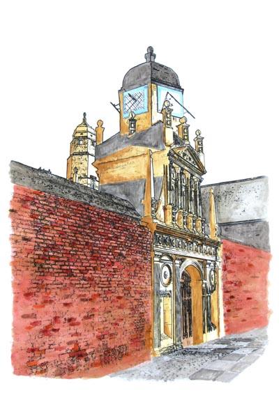 Gate of Honour, Cambridge