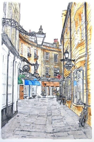 Rose Crescent, Cambridge