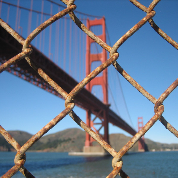 Fence at the Golden Gate